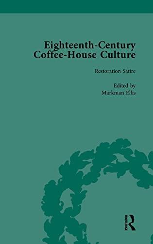 9781138752856: Eighteenth-Century Coffee-House Culture, vol 1