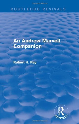 9781138775947: An Andrew Marvell Companion (Routledge Revivals)