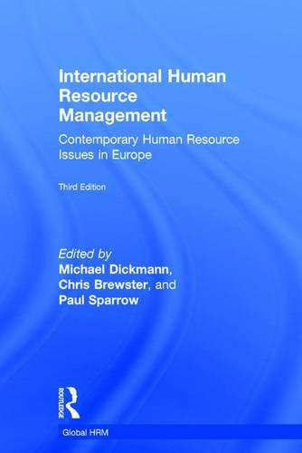 9781138776029: International Human Resource Management: Contemporary HR Issues in Europe (Global HRM)