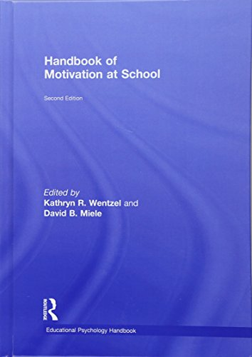 9781138776166: Handbook of Motivation at School (Educational Psychology Handbook)
