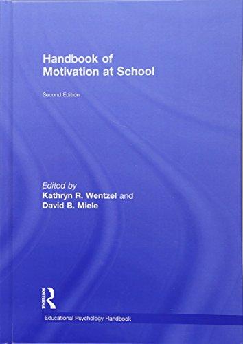 9781138776166: Handbook of Motivation at School (Educational Psychology Handbook)