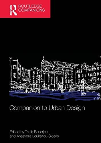 9781138776548: Companion to Urban Design (Routledge Companions)