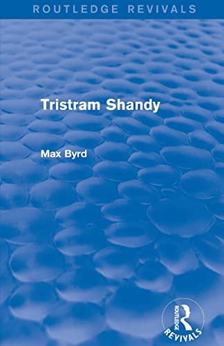 9781138777699: Tristram Shandy (Routledge Revivals)