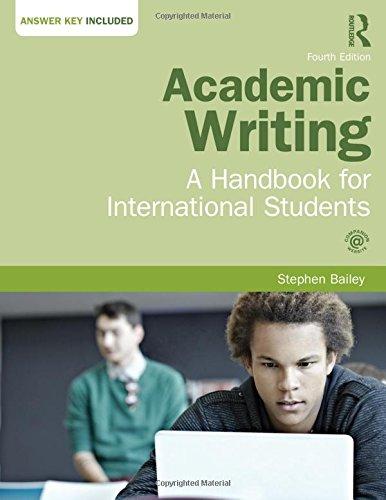 9781138778498: Academic Writing: A Handbook for International Students