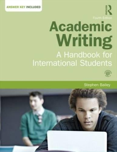 9781138778504: Academic Writing: A Handbook for International Students
