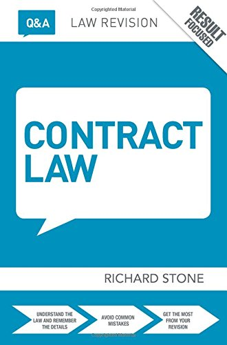 9781138779075: Q&A Contract Law (Questions and Answers)