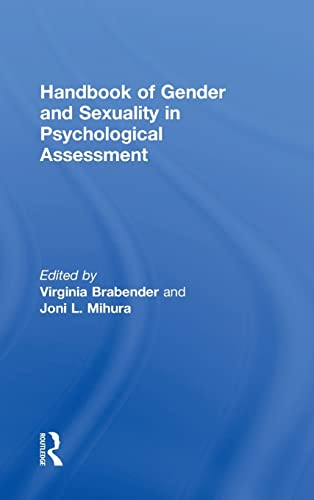 9781138782044: Handbook of Gender and Sexuality in Psychological Assessment