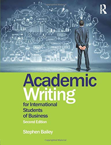 9781138783904: Academic Writing for International Students of Business