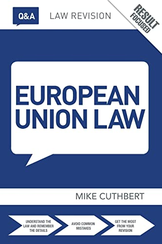 9781138783911: Q&A European Union Law (Questions and Answers)