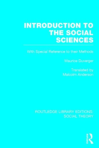 Introduction to the Social Sciences: Duverger, Maurice