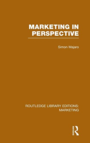 9781138787636: Marketing in Perspective (RLE Marketing) (Routledge Library Editions: Marketing) (Volume 21)