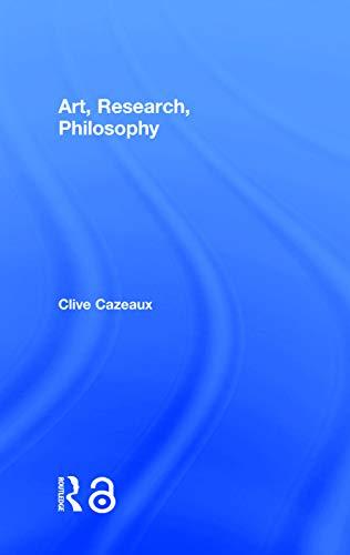 9781138789777: Art, Research, Philosophy