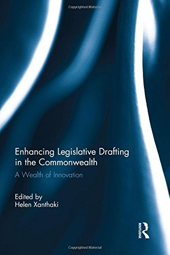 Enhancing Legislative Drafting in the Commonwealth: A Wealth of Innovation