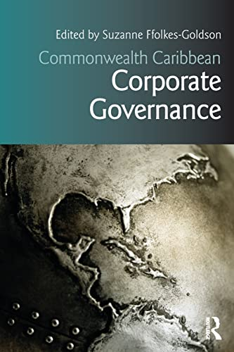 9781138794696: Commonwealth Caribbean Corporate Governance (Commonwealth Caribbean Law)