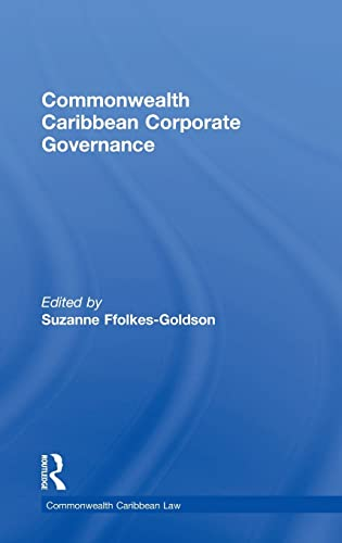 9781138794702: Commonwealth Caribbean Corporate Governance (Commonwealth Caribbean Law)