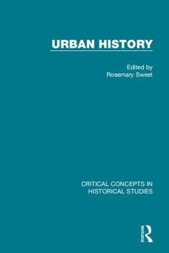 Urban History (Hardback)