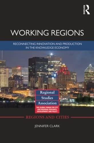 9781138798526: Working Regions (Regional Studies Association)