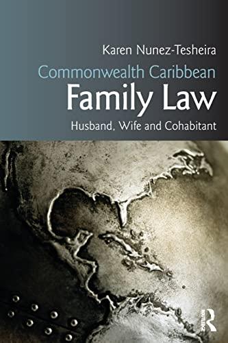 Family Law of Husband, Wife and Cohabitant: Nunez-Tesheira, Karen