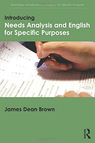 9781138803817: Introducing Needs Analysis and English for Specific Purposes (Routledge Introductions to English for Specific Purposes)