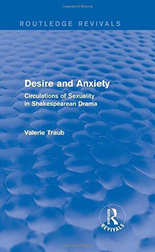 9781138804395: Routledge Revivals 17th Century Literature Bundle: Desire and Anxiety (Routledge Revivals): Circulations of Sexuality in Shakespearean Drama (Volume 6)