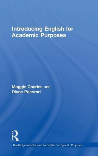 9781138805101: Introducing English for Academic Purposes (Routledge Introductions to English for Specific Purposes)