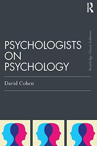 9781138808508: Psychologists on Psychology (Classic Edition)