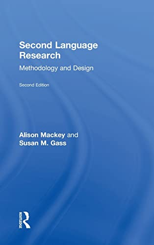 9781138808553: Second Language Research: Methodology and Design