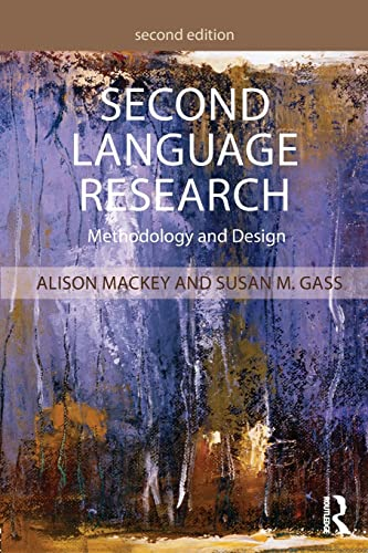 9781138808560: Second Language Research: Methodology and Design