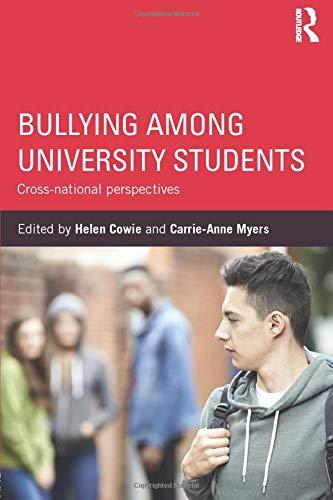 9781138809260: Bullying Among University Students: Cross-national perspectives