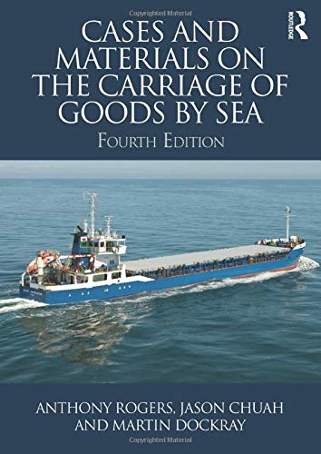9781138809888: Cases and Materials on the Carriage of Goods by Sea