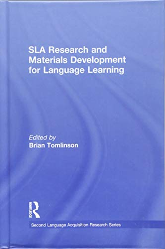 9781138811966: SLA Research and Materials Development for Language Learning (Second Language Acquisition Research Series)
