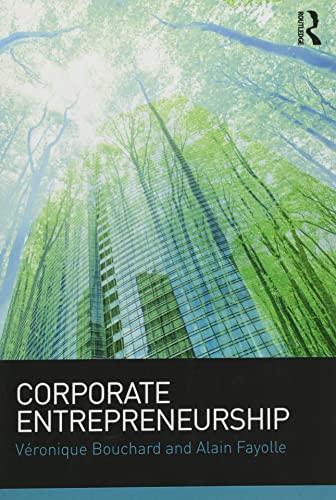 9781138813687: Corporate Entrepreneurship