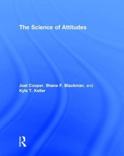 9781138820784: The Science of Attitudes