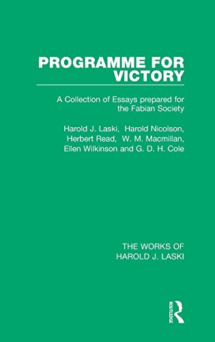 The Works of Harold J. Laski: Programme: Laski, Harold J.,