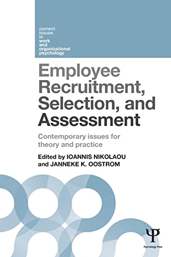 Employee Recruitment, Selection, and Assessment: Contemporary Issues