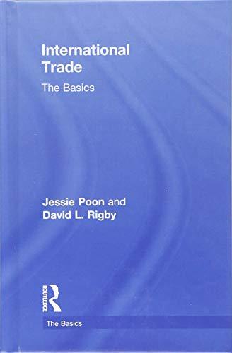 9781138824386: International Trade: The Basics