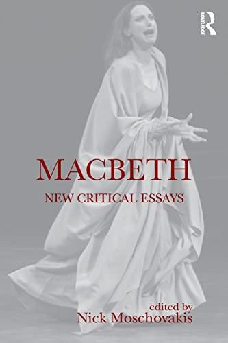 9781138828452: Macbeth: New Critical Essays (Shakespeare Criticism)