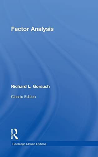 9781138831988: Factor Analysis: Classic Edition (Psychology Press & Routledge Classic Editions)