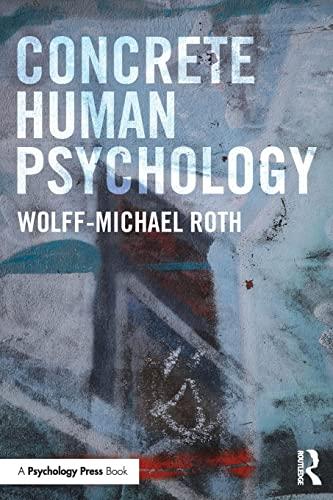 9781138833104: Concrete Human Psychology