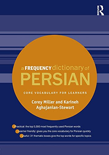 9781138833241: A Frequency Dictionary of Persian: Core vocabulary for learners (Routledge Frequency Dictionaries)