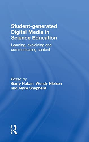 9781138833821: Student-generated Digital Media in Science Education: Learning, explaining and communicating content