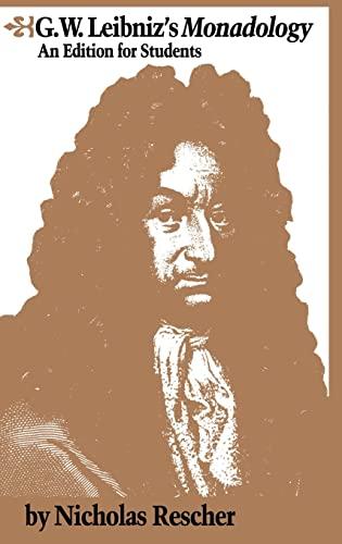9781138834040: G.W. Leibniz's Monadology