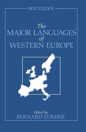 9781138834361: The Major Languages of Western Europe