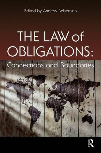 9781138834378: The Law of Obligations: Connections and Boundaries