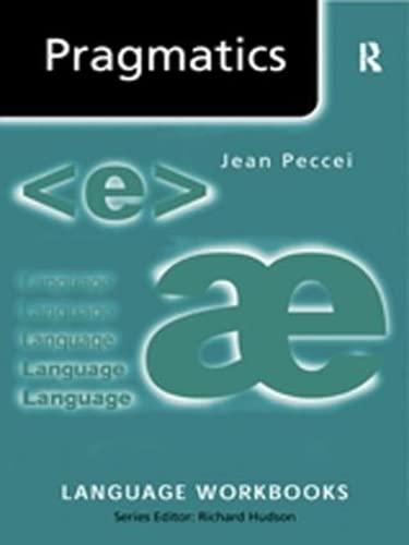 9781138834392: Pragmatics (Language Workbooks)