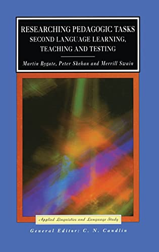 9781138835412: Researching Pedagogic Tasks: Second Language Learning, Teaching, and Testing (Applied Linguistics and Language Study)