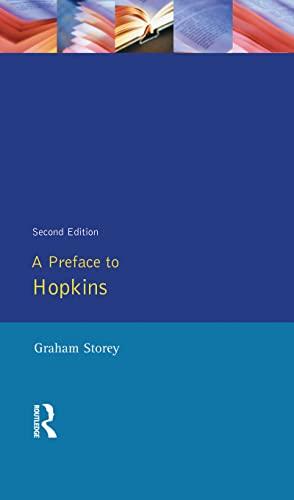 9781138836068: A Preface to Hopkins (Preface Books)
