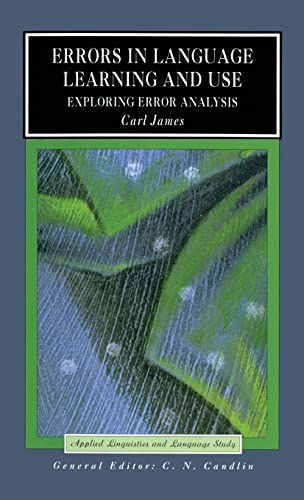 9781138836723: Errors in Language Learning and Use: Exploring Error Analysis (Applied Linguistics and Language Study)