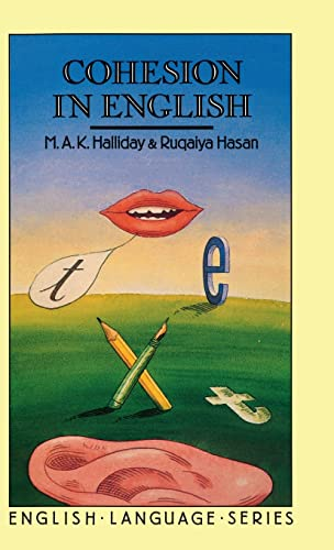 9781138837218: Cohesion in English (English Language Series)