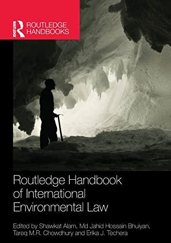 9781138838970: Routledge Handbook of International Environmental Law (Routledge Handbooks)